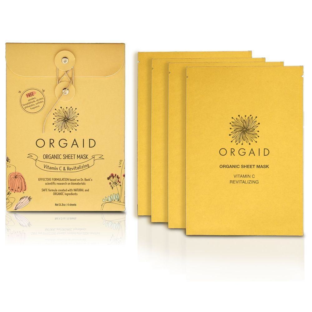 Vitamin C & Revitalizing Organic Sheet Mask-4