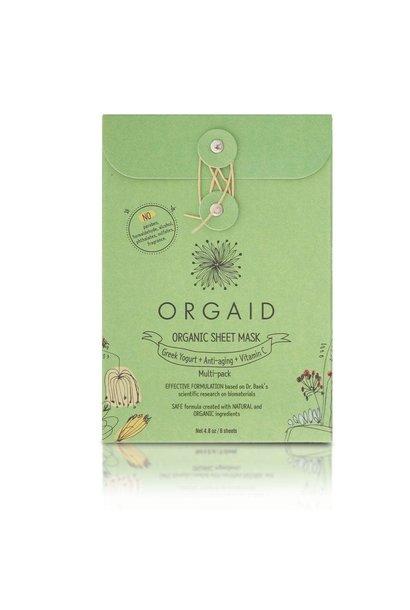 Organic Sheet Mask - Multi-Pack