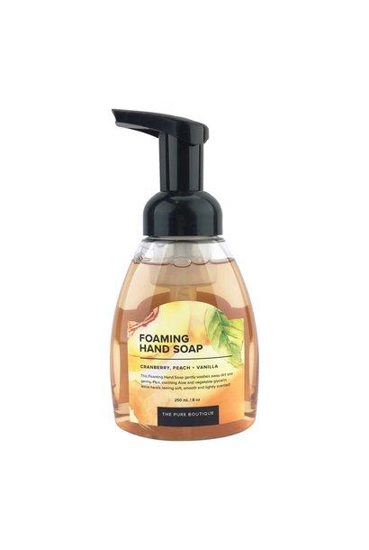 Foaming Hand Soap - Cranberry, Peach, and Vanilla