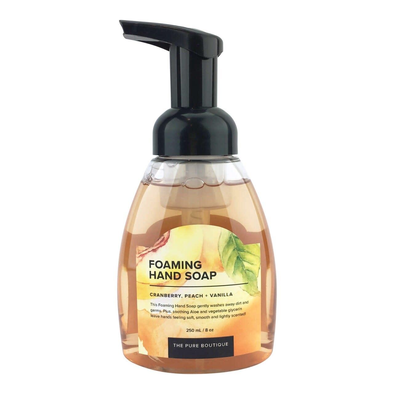 Foaming Hand Soap - Cranberry, Peach, and Vanilla-1