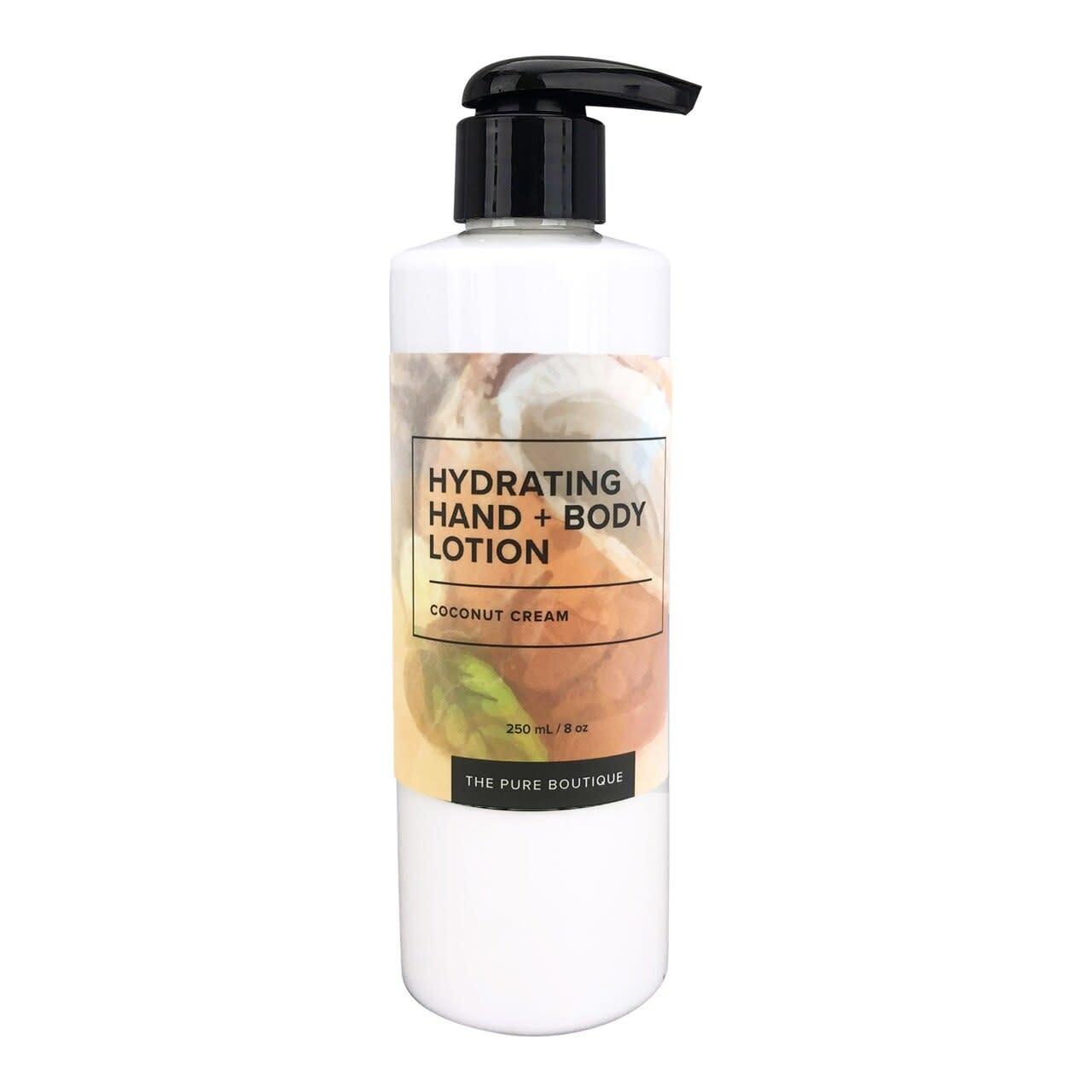 Hydrating Hand & Body Lotion - Coconut Cream-1