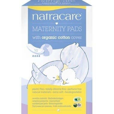 Natural Maternity Pads (10/pk)-1