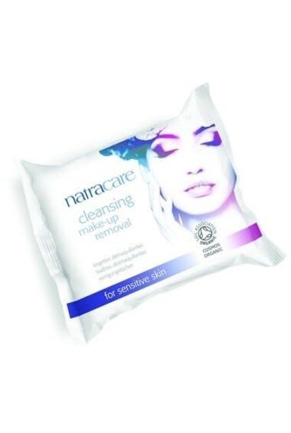 Organic Cleansing Makeup Removal Wipes (20/pk)