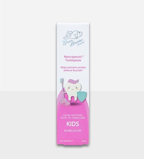 Kids Natrapeutic Toothpaste: Bubblegum-1