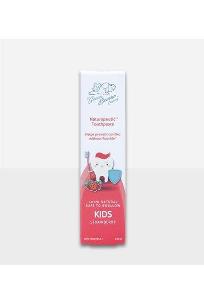 Kids Natrapeutic Toothpaste: Strawberry