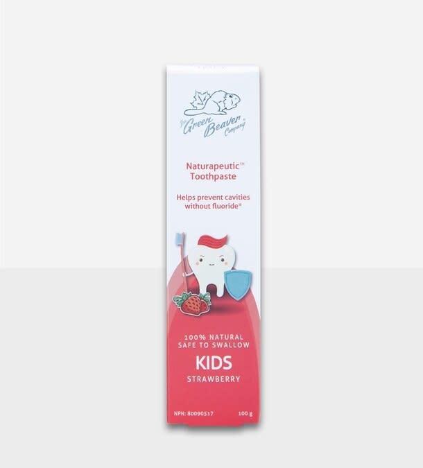 Kids Natrapeutic Toothpaste: Strawberry-1