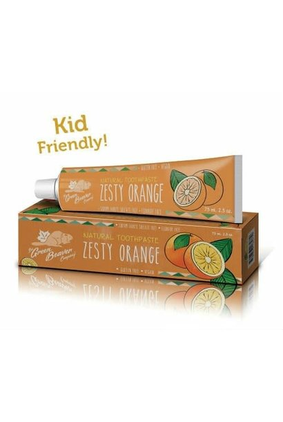 Toothpaste: Zesty Orange