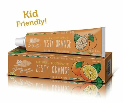 Toothpaste: Zesty Orange-1