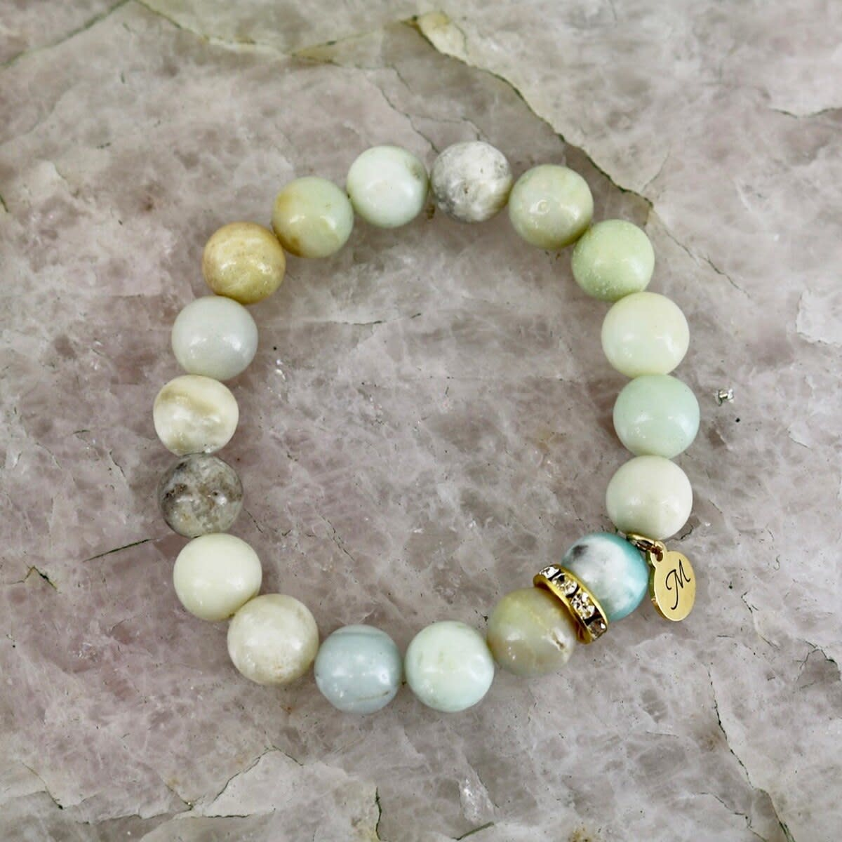 Oasis Bracelet - Amazonite Stone-1