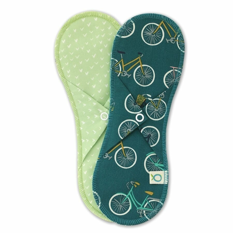 Regular Cloth Pads - 2 pk (3 colours available)-3