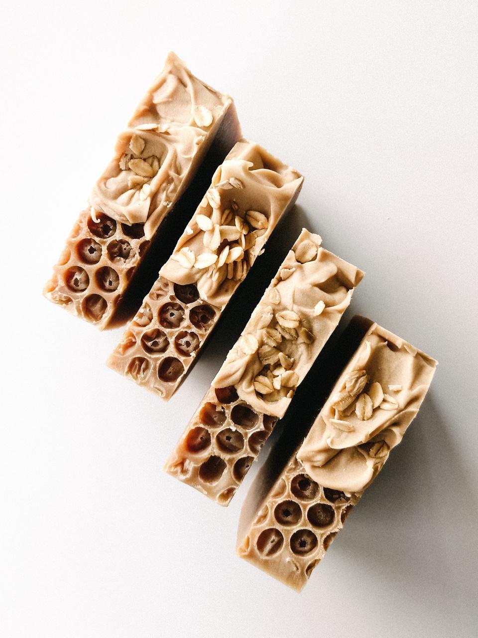 Soap Bar - Oatmeal & Honey-1