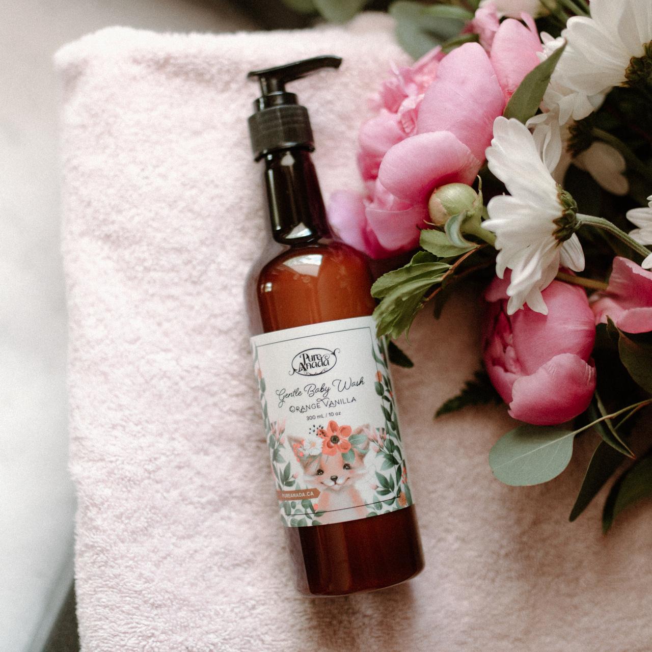 Gentle Baby Wash - Orange Vanilla-1