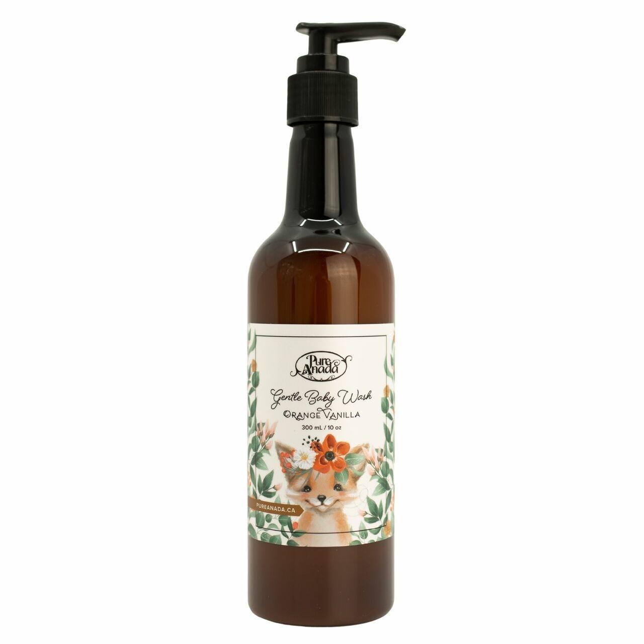 Gentle Baby Wash - Orange Vanilla-2