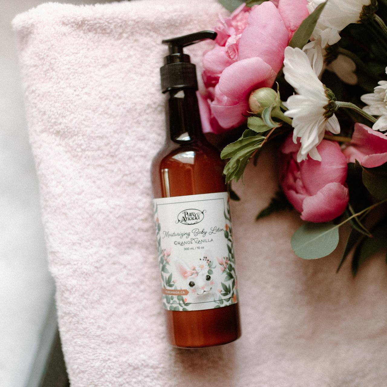 Moisturizing Baby Lotion - Orange Vanilla-1