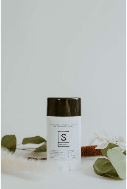 Deodorant Stick - Spearmint + Pine