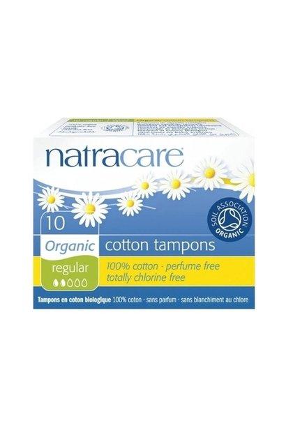 Regular Non-Applicator Organic Cotton Tampons (10/pk)