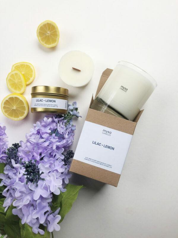 Candle - Lilac Lemon-2