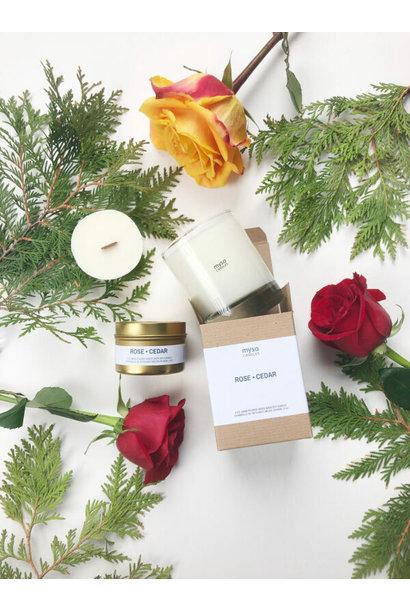 Candle - Rose Cedar