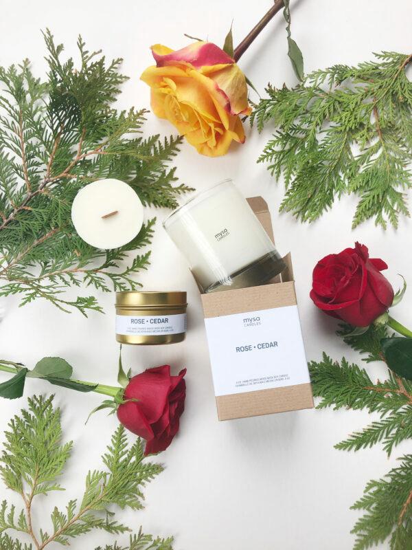 Candle - Rose Cedar-2