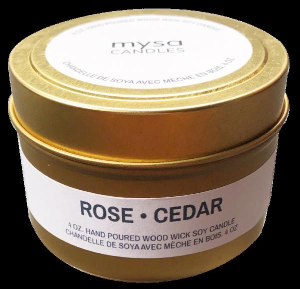 Candle - Rose Cedar-1