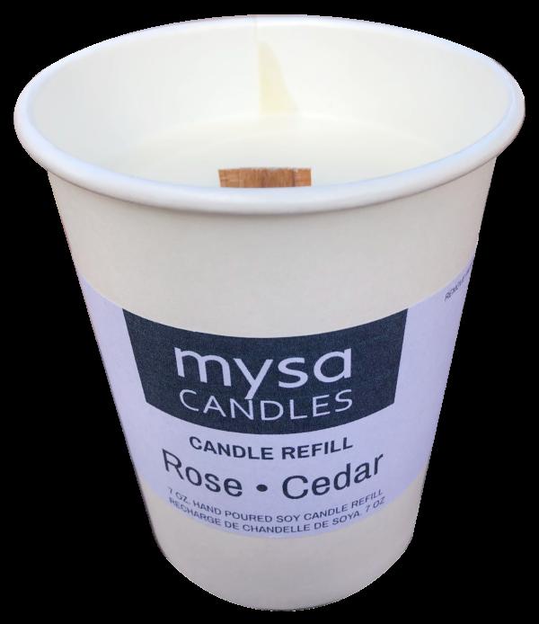 Candle - Rose Cedar-4