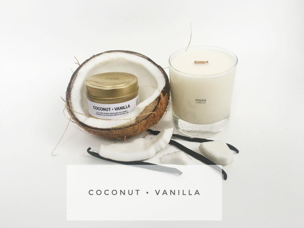 Candle - Coconut Vanilla-1