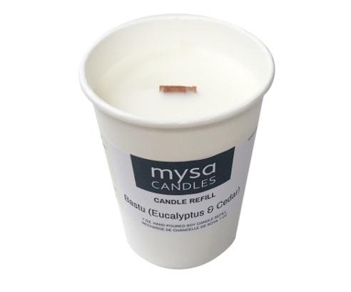 Candle - Bastu (Eucalyptus & Cedar)-4