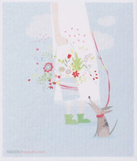 Girl & Bouquet-1