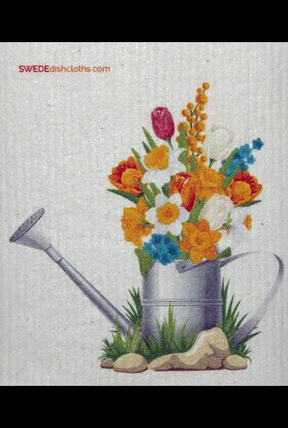 Flowers in Pail