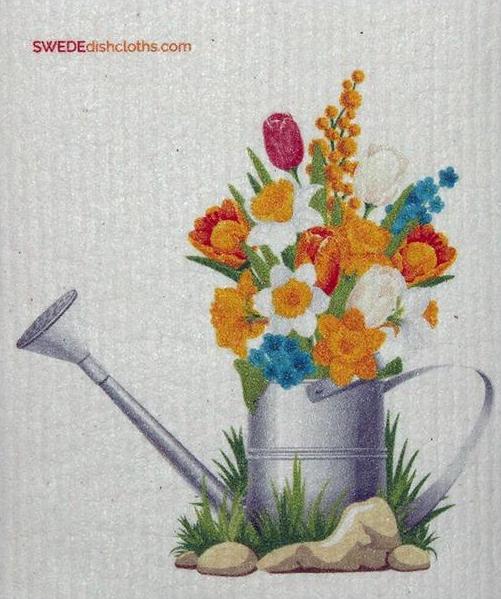 Flowers in Pail-1