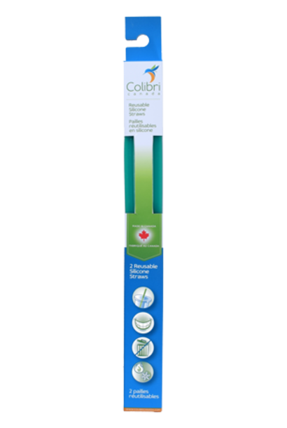 Reusable Silicone Straw (2pk)
