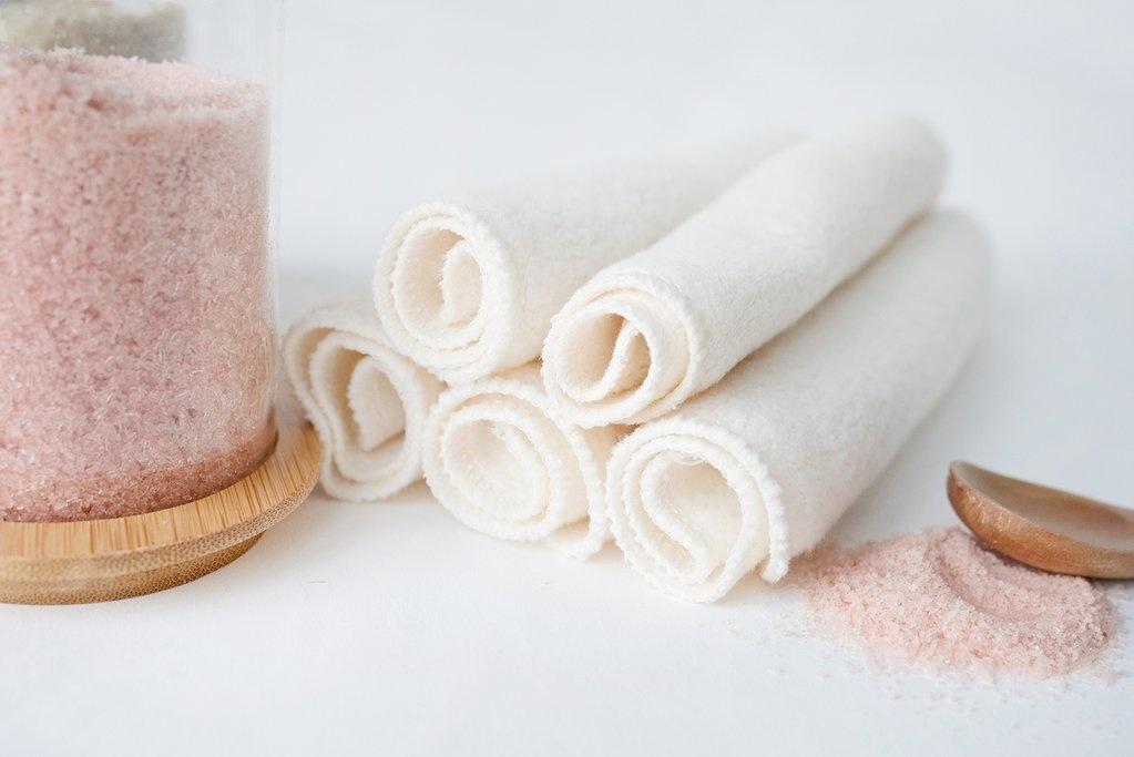 Cotton Washcloth (5pk)-1