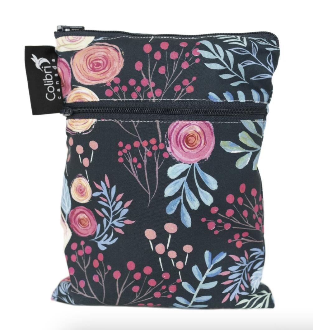 Roses Mini Double Duty Wet Bag-1
