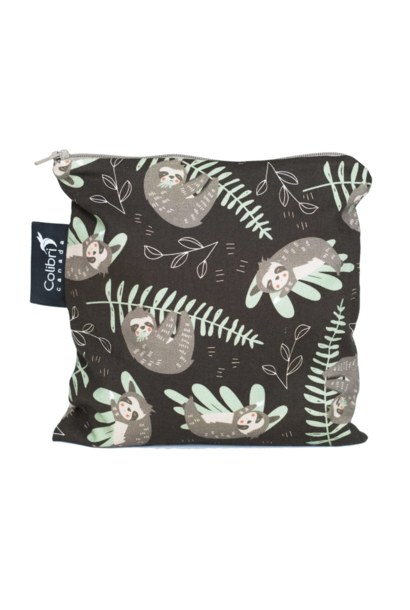 Sloths Reusable Snack Bag (large)