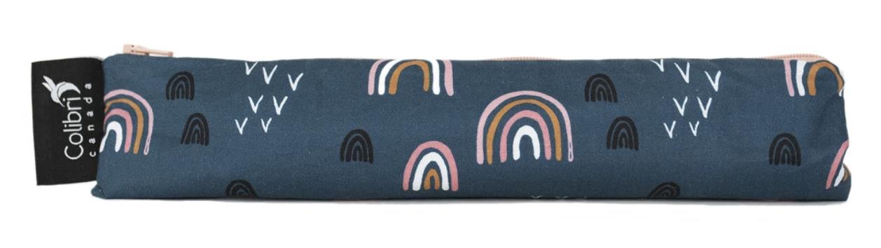 Rainbow Reusable Snack Bag (wide)-1
