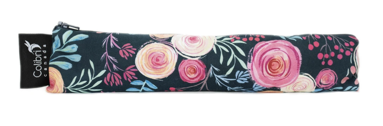 Roses Reusable Snack Bag (wide)-1