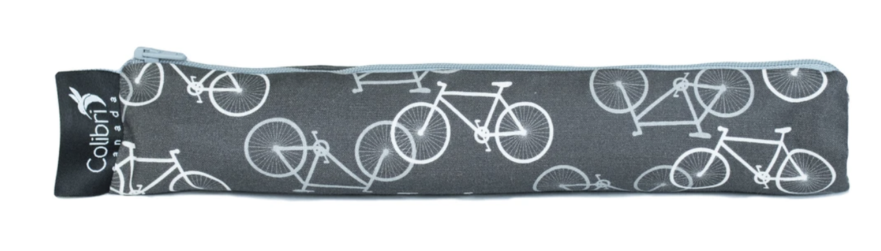Bikes Reusable Snack Bag (wide)-1