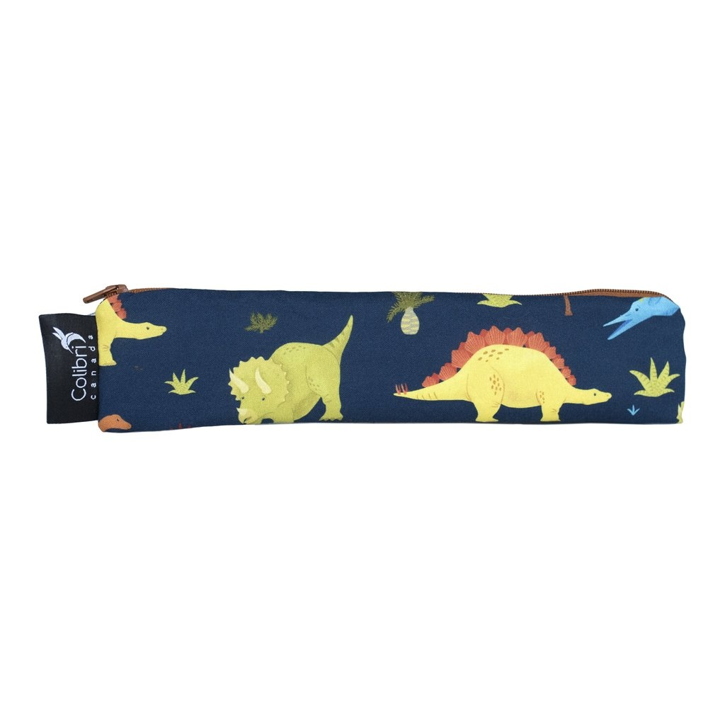 Dinosaurs Reusable Snack Bag (wide)-1