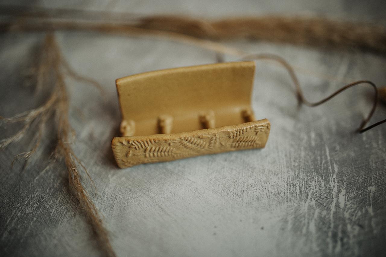 Soap Dish (Mustard)-1