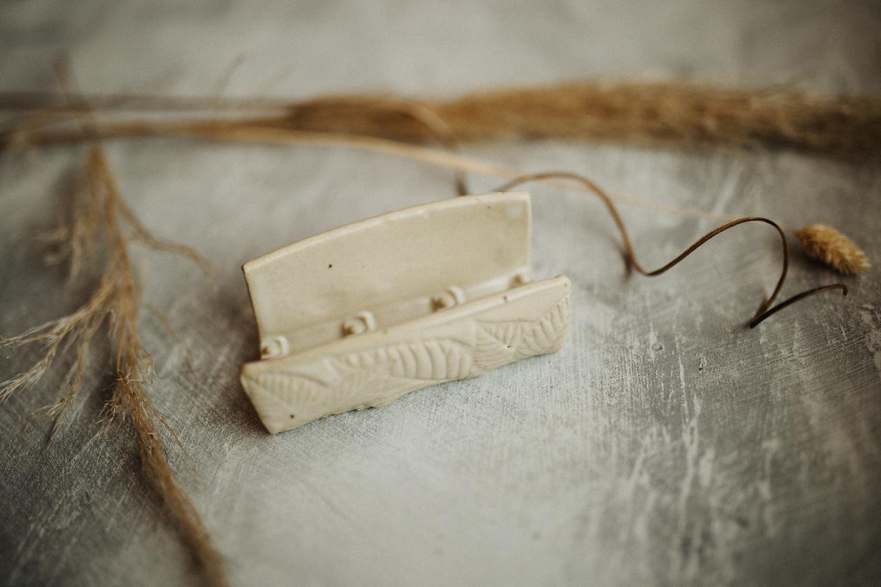 Soap Dish (Ivory)-1