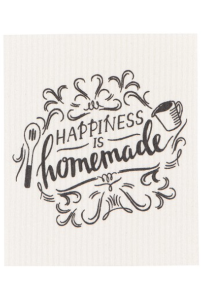 Happiness is Homemade (Black/White)