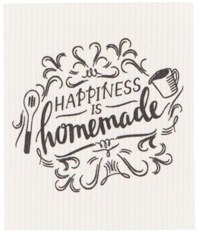 Happiness is Homemade (Black/White)-1