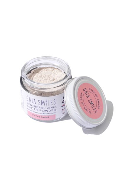 Peppermint Tooth Powder