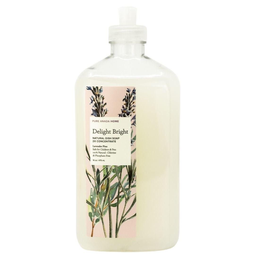 Dish Soap - Lavender Pine-1