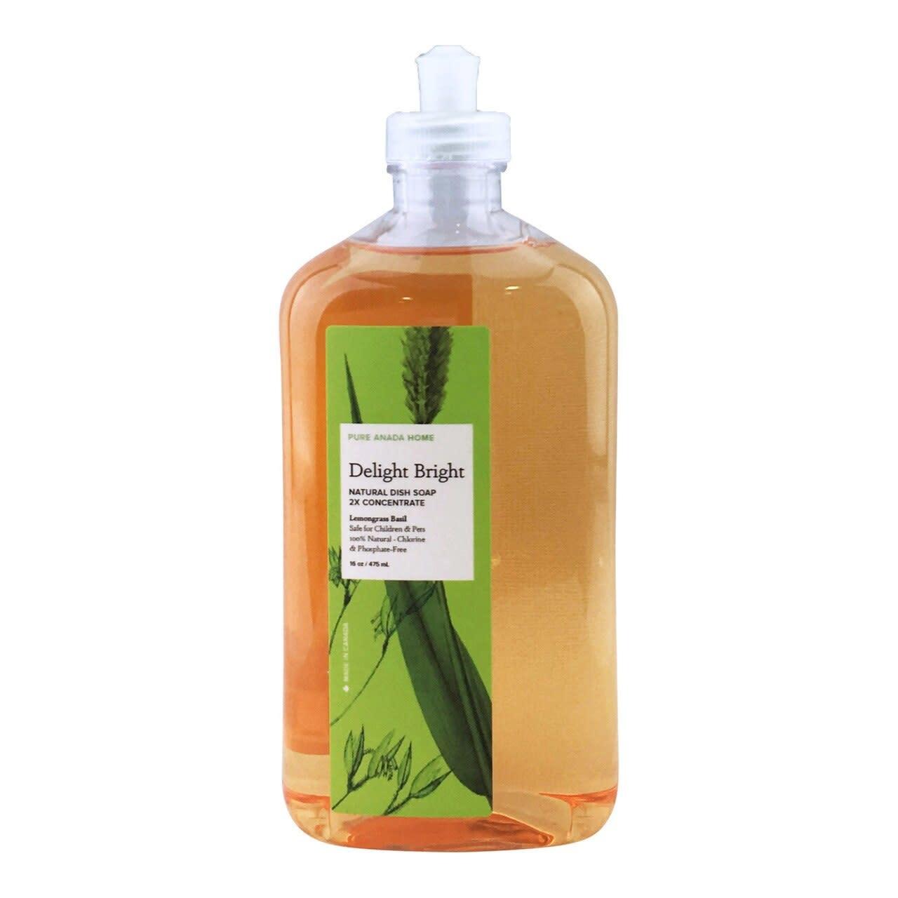 Dish Soap - Lemongrass Basil-1