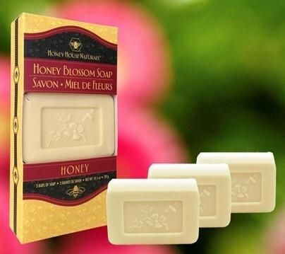 Blossom Boxed Soap (Honey)-1