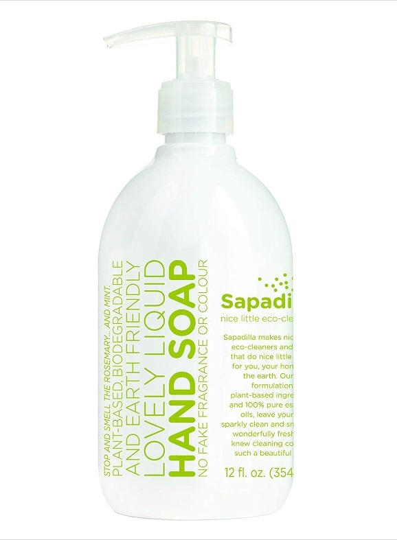 Liquid Hand Soap (Rosemary & Peppermint)-1