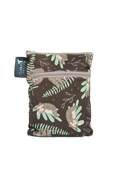 Sloths Mini Double Duty Wet Bag