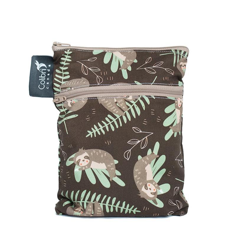 Sloths Mini Double Duty Wet Bag-1