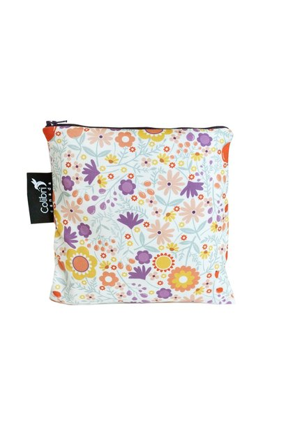 Wild Flowers Reusable Snack Bag (large)